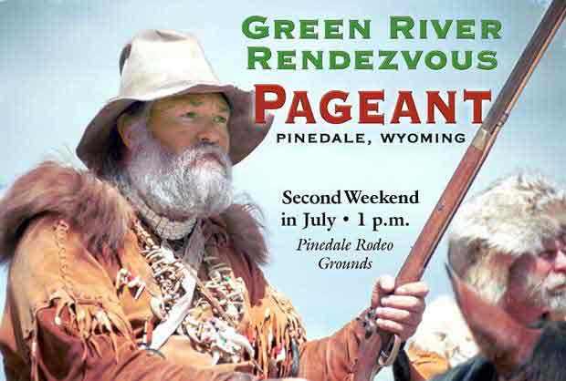 Green River Rendezvous Pageant, Pinedale, Wyoming